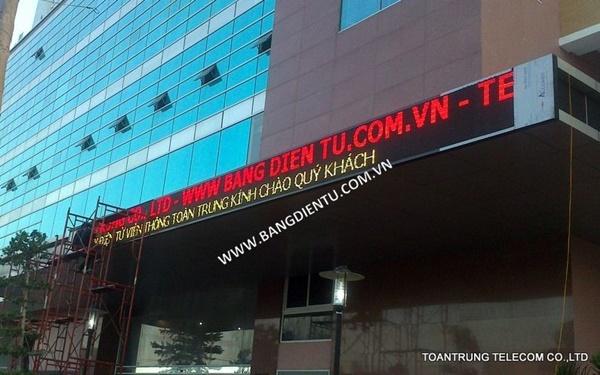 Toàn Trung chuyên lắp đặt bảng quảng cáo điện tử led thu hút được người đi đường ngay lập tức.