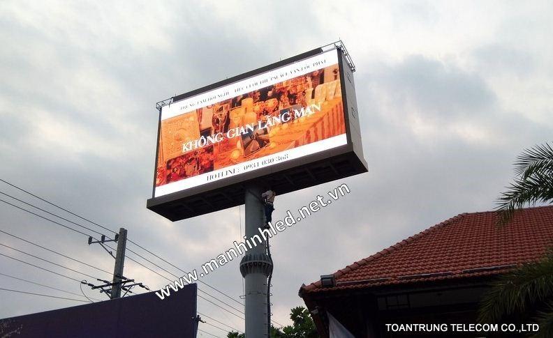 Sử dụng màn hình led quảng cáo cũng là một giải pháp trong thời đại công nghệ số.