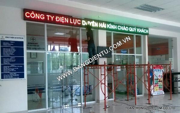 Toàn Trung chuyên cung cấp bảng điện tử cổng chào hỗ trợ các doanh nghiệp tối đa trong việc quảng bá hình ảnh