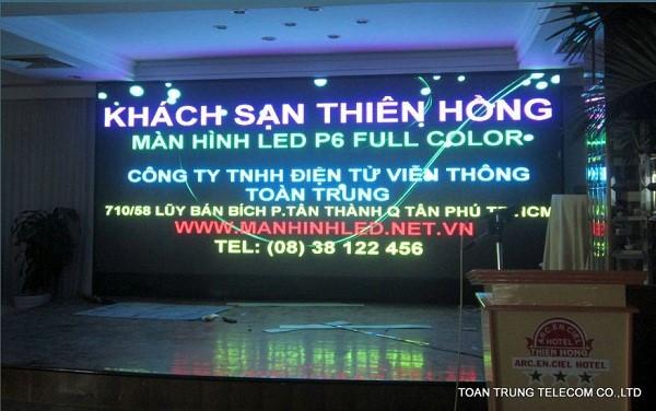 Báo giá màn hình led sân khấu của công ty Toàn Trung thấp nhất mà chất lượng đảm bảo