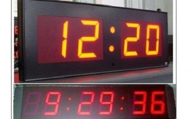 Đồng hồ điện tử led treo tường 7 đoạn do Toàn Trung phân phối đảm bảo hiển thị thời gian chính xác với hình ảnh con số rõ ràng, dễ nhìn  Khung được làm bằng chất liệu cao cấp