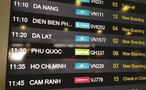 Bảng điện tử sân bay của Toàn Trung phân phối chất lượng đều đạt chuẩn ISO 9001-2015