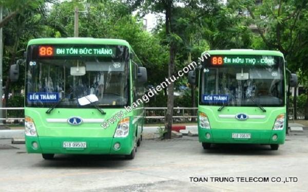 Toàn Trung xứng đáng là đơn vị lắp đặt bảng đèn led xe buýt số 1 tại Việt Nam