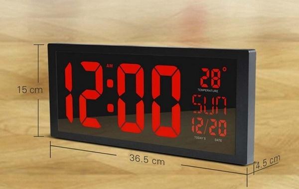 Toàn Trung cung cấp đồng hồ điện tử đèn led treo tường với thông tin hiển thị luôn luôn chính xác