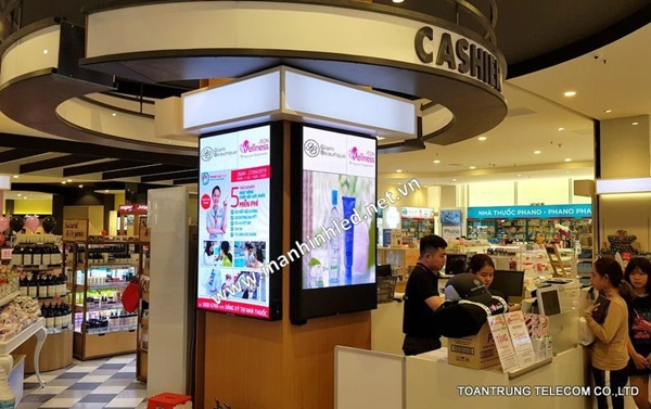 Toàn Trung thực hiện thi công màn hình led trong nhà p2 tại Aeon Mall Tân Phú