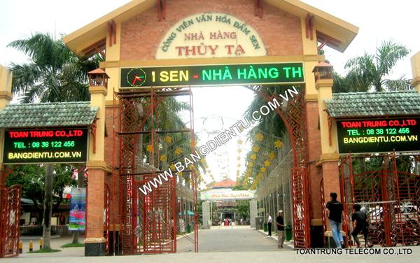 Toàn Trung chuyên cung cấp bảng quảng cáo điện tử led cho nhiều doanh nghiệp tại TP HCM