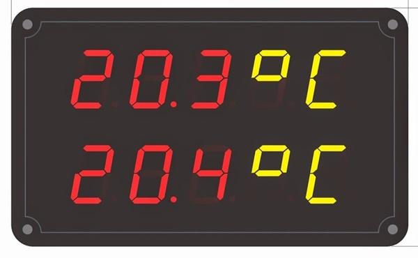 Đi tìm lý do vì sao bảng điện tử hiển thị độ ẩm 2.3 inch lại được sử dụng trong phòng sản xuất