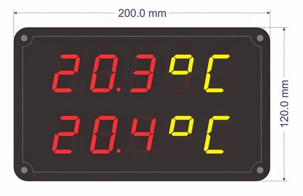 Toàn Trung chuyên lắp đặt bảng điện tử hiển thị nhiệt độ hàng đầu tại TP HCM