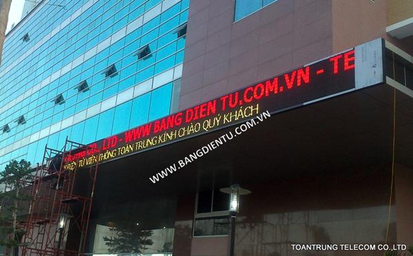Toàn Trung chuyên cung cấp và lắp đặt bảng led điện tử giá rẻ nhất TP HCM
