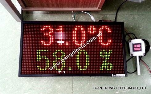 Lắp đặt bảng điện tử hiển thị độ ẩm tại Toàn Trung đảm bảo sản phẩm chất lượng và giá tốt