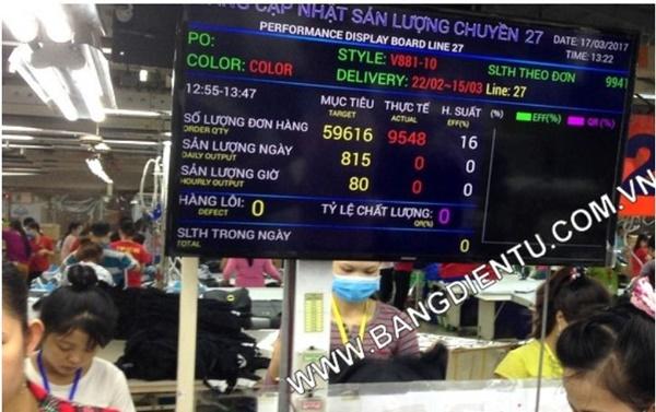 Bảng điện tử LCD của Toàn Trung đạt chuẩn ISO 9001-2015
