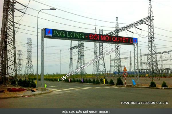 Bảng điện tử led full color do Toàn Trung phân phối đều đạt chuẩn ISO 9001-2015