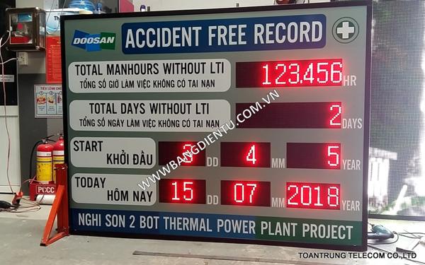 Toàn Trung là đơn vị sản xuất, cung cấp và lắp đặt bảng điện tử LCD số 1 tại TP HCM