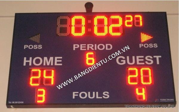 Bảng điện tử bóng rổ thật sự là không thể thiếu và rất cần thiết trong một trận đấu