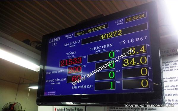 Toàn Trung là đơn vị cung cấp và lắp đặt bảng điện tử LCD tốt nhất hiện nay