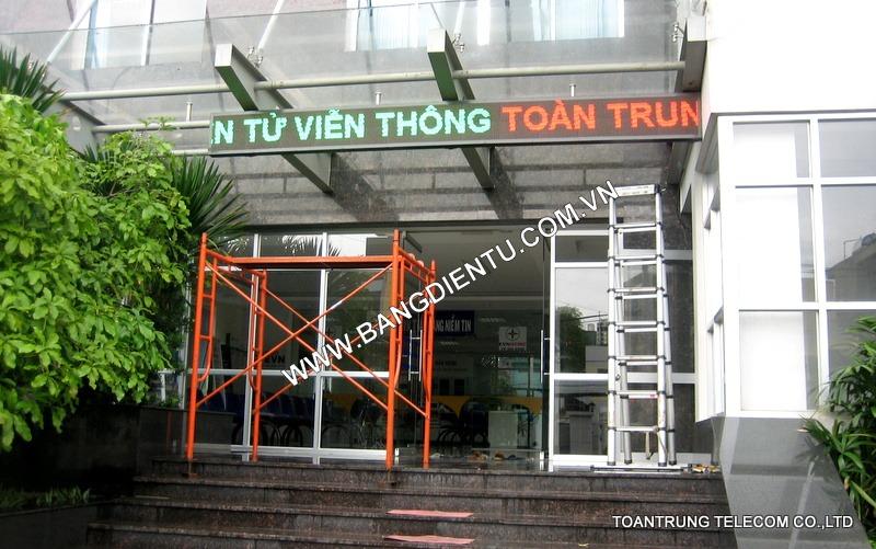 Toàn Trung là một trong những đơn vị cung cấp và lắp đặt bảng điện tử quảng cáo rẻ nhất TP.HCM