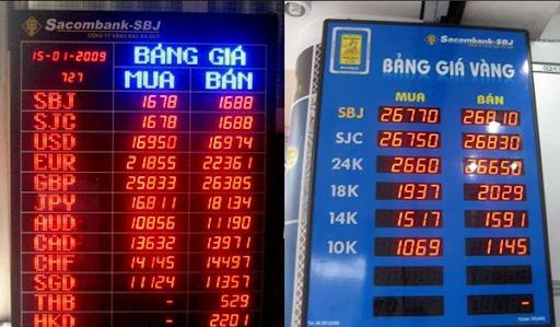 """Thời giá vàng """"nhảy nhót"""" từng giây - Thấy rõ hiệu quả từ bảng điện tử giá vàng"""