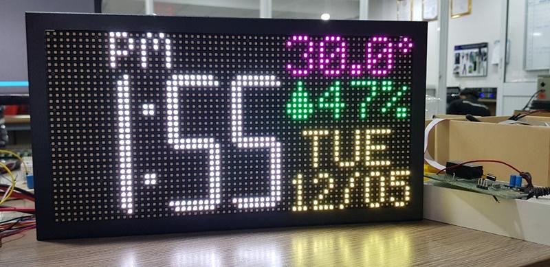 Đồng hồ led điện tử do Toàn Trung sản xuất có nhiều mẫu mã cho bạn lựa chọn