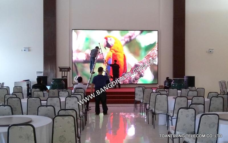 Màn hình LED P4 Sài Gòn Rạch Giá Hotel (Saigontourist)
